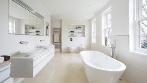 Plafond badkamer