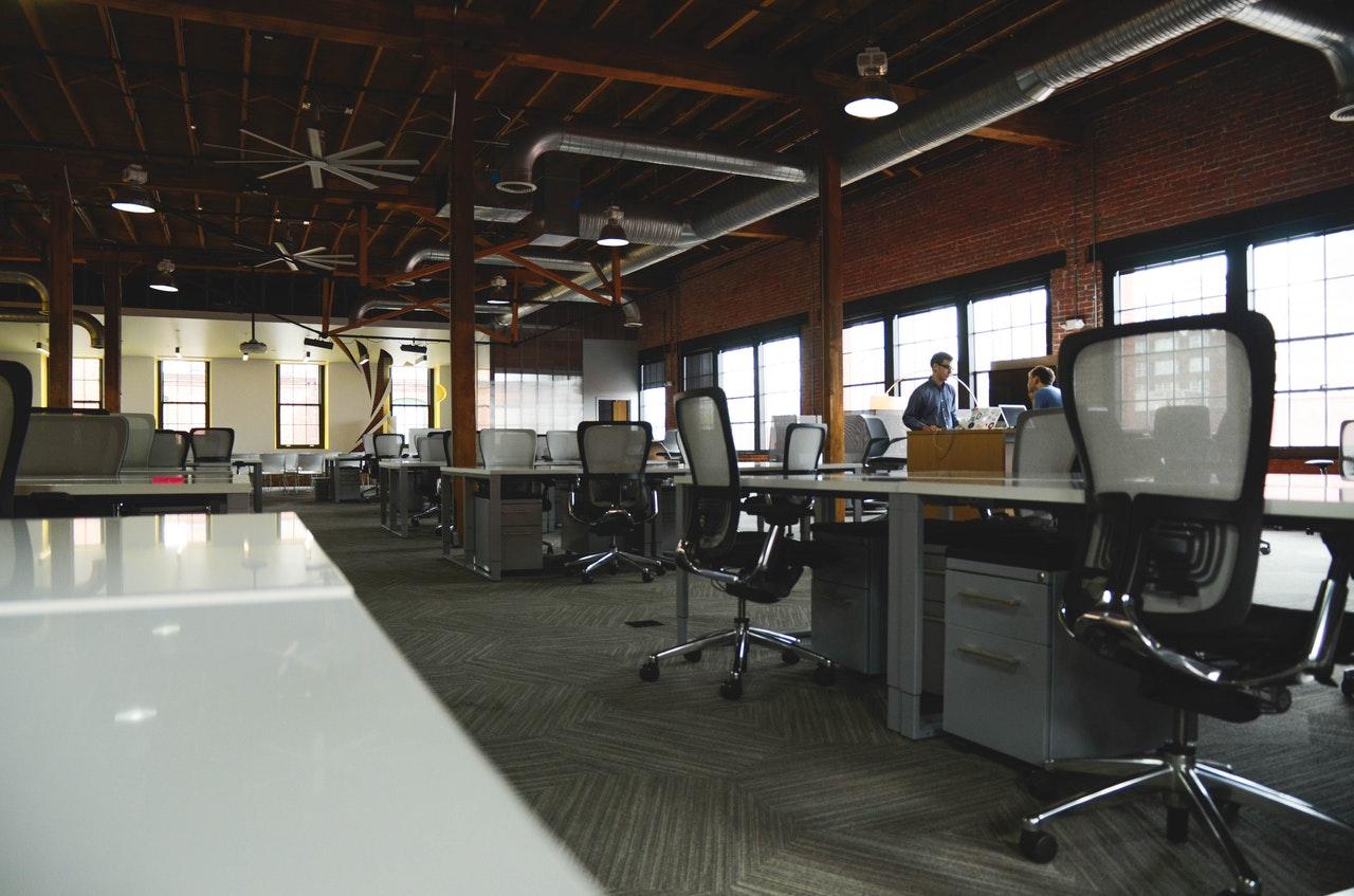 inrichting kantoorpand