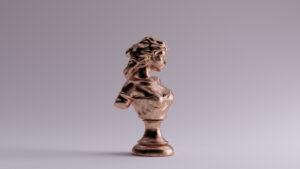 sculptuur brons